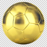 Balones dorado de futbol