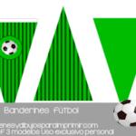 Banderin de futbol