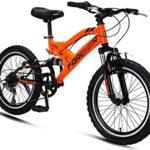 Bicicletas niño doble suspension