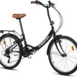 Bicicletas plegables 24 pulgadas