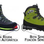 Botas botas rigidas mujer de alpinismo
