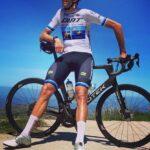 Calcetines largos de ciclismo