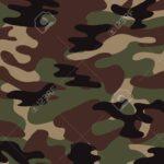 Camuflaje militar verde