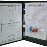 Carpeta entrenador de futbol