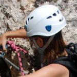 Cascos escalada mujer para alpinismo