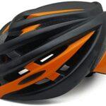 Cascos naranja de ciclismo