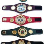 Cinturones de boxeo