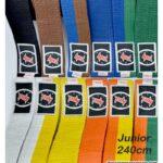 Cinturones infantiles de judo