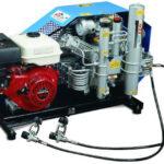 Compresor de submarinismo