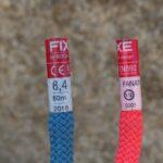 Cuerdas doble para alpinismo