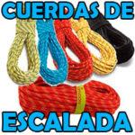 Cuerdas escalada baratas para alpinismo