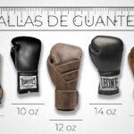 Guantes 12 oz de boxeo