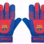 Guantes portero para niño barcelona de futbol