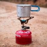 Hornillo gas de alpinismo
