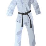 Kimonos vector de judo