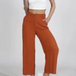 Pantalones naranja de tenis