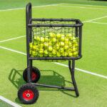 Pelotas carro pelotas de tenis