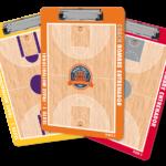 Pizarra personalizada de baloncesto