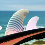 Quillas principiantes de surf