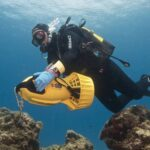 Scooter submarinismo de buceo
