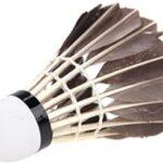 Volantes pluma ganso ala izquierda de badminton