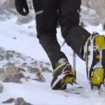 Botas invernal de alpinismo