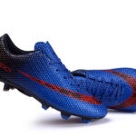 Botas niño calcetines de futbol