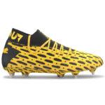 Botas puma amarillas de futbol