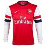 Camisetas manga larga de futbol
