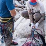 Cuerdas escalada 70 m para alpinismo