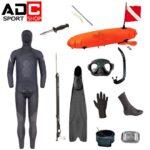 Equipo completo para pesca submarina