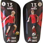 Espinilleras personalizadas de futbol