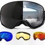 Gafas de esqui fotocromaticas