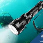 Linternas foco submarinismo de buceo