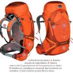 Mochilas osprey de alpinismo