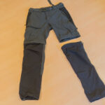 Pantalones desmontables