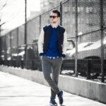 Pantalones gris de tenis