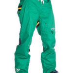 Pantalones verde de snow