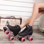 Patines de 4 ruedas baratos de patinaje