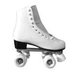 Patines de 4 ruedas blancos de patinaje