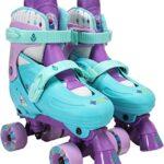Patines de 4 ruedas frozen de patinaje