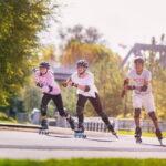 Patines principiantes de patinaje en linea