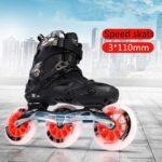 Patines ruedas grande de patinaje en linea