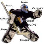 Proteccion de hockey hielo