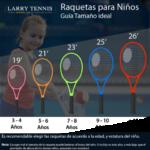 Raquetas infantiles de tenis