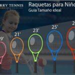 Raquetas niño de tenis
