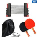 Red portatil de ping pong