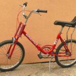 Sillines de bicicletas con respaldo