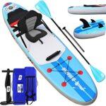 Tablas hinchables con asiento de paddle surf