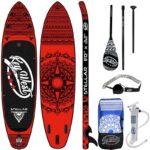 Tablas hinchables nootica de paddle surf